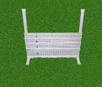 Conditioning/Flyball Jump Set with Tote Bag