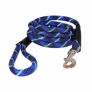 Reflective Rope Leads Blue