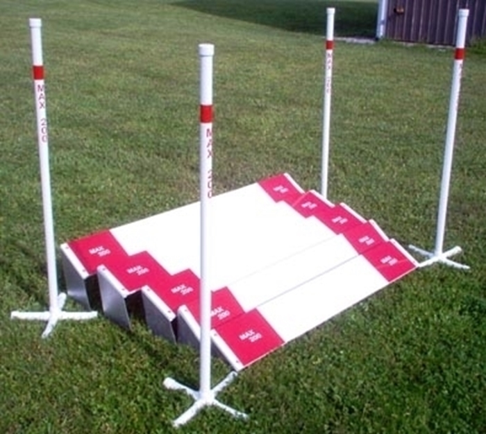 Long Jump Plastic Wood