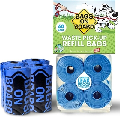 Bags on Board for Dogs REFILLS