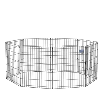 Black E-Coated Exercise Pen-30""