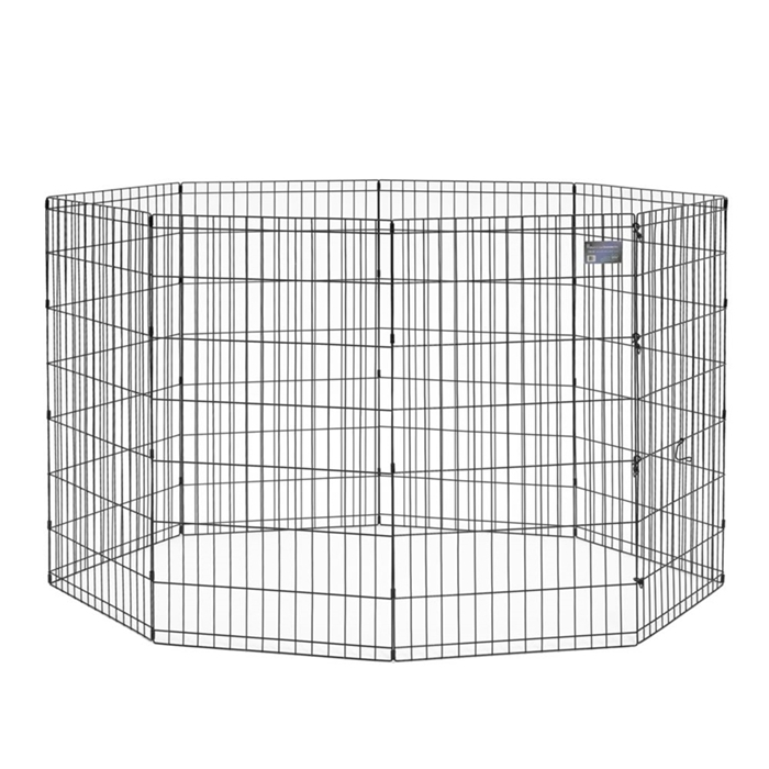 Black E-Coated Exercise Pen-42""