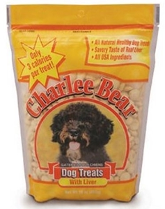 Charlee Bear Dog Treats Liver