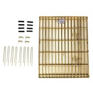 "Gold Zinc Exercise Pen - 30"" Parts"