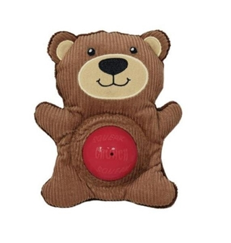 KONG Sqrunch Bellie Toy Bear