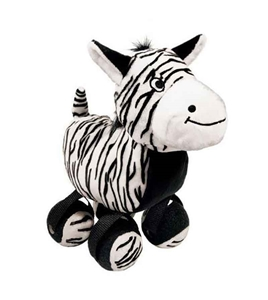 KONG Tenni Shoes Toy Zebra
