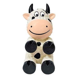 KONG Wiggi Toy Cow