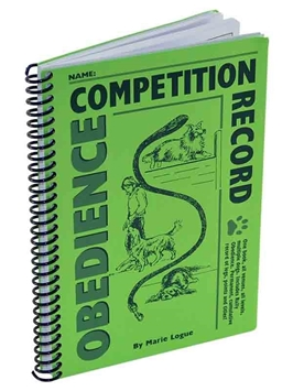 Obedience Competition Recordbook