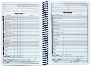 Obedience Competition Recordbook Page