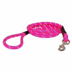 Reflective Rope Leads Pink