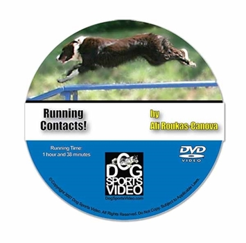 Running Contacts with Ali Roukas-Canova DVD
