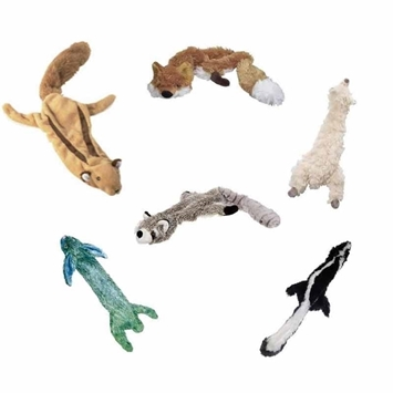 Skinnees Plush Dog Toy