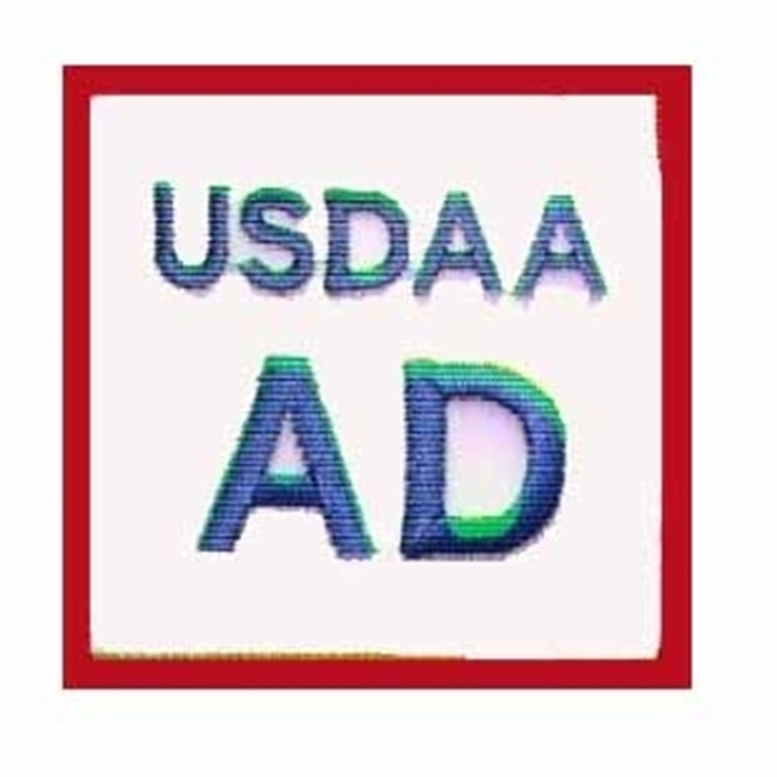 USDAA Title Patches