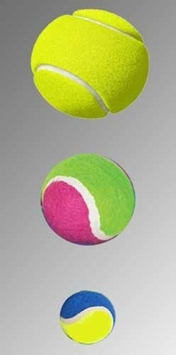 Various Tennis Balls