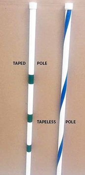 Weave Pole Accessories -Tapeless Replacement Poles