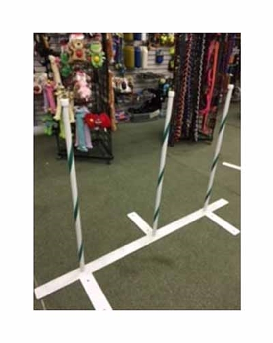 Weave Poles (22 or 24 Spacing, 3 Poles)