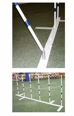 "Weave Poles ( 22"" or 24"" Spacing, 6 Poles)"