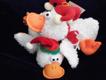 Picture of Christmas Duck