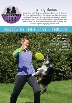 Picture of Disc Dog Freestyle Tricks