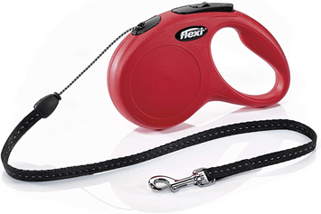 Flexi Retractable Lead -Red