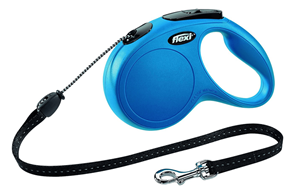 Flexi Retractable Lead -Blue