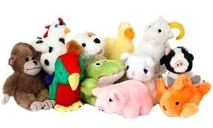 Picture of Look Who's Talking Plush Dog Toys
