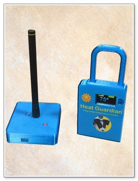 Heat Guardian v2 - Base & Mobile Blue