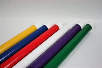 Solid Color Weave Poles