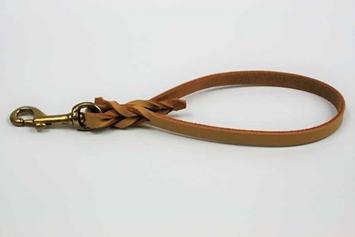 Looped Leather Walking Tab
